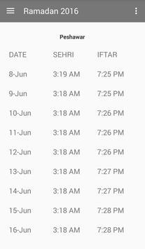 Ramadan 2016 apk screenshot