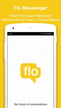 Flo - Chat + Discover + Share poster