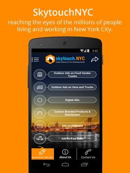 SkyTouchNYC:Street Advertising apk screenshot
