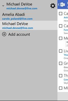 Outlook.com apk screenshot