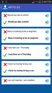 Common English Mistakes apk screenshot