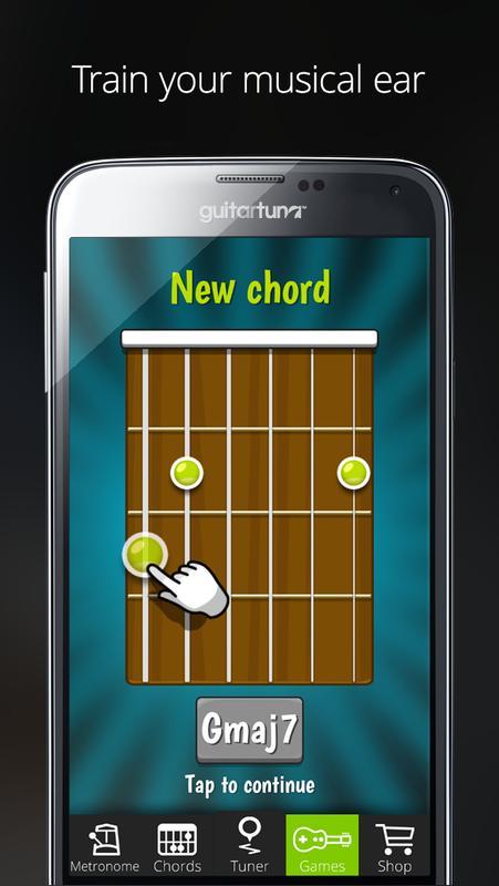 guitar tuner free guitartuna apk download free tools app for android. Black Bedroom Furniture Sets. Home Design Ideas