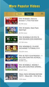 Cheats for FIFA 16 (15) apk screenshot