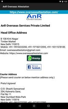 AnR Overseas Services apk screenshot