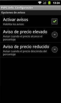 PVPC-Info apk screenshot