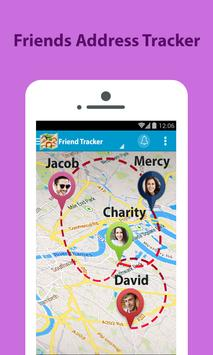 Friends mobile number tracker poster