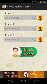 Friends mobile number tracker apk screenshot