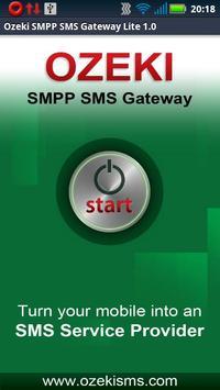 OZEKI SMPP SMS GATEWAY Lite poster