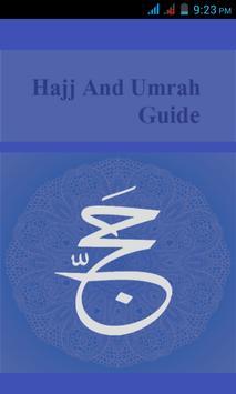 Hajj and Umrah Guide English poster