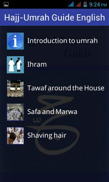 Hajj and Umrah Guide English apk screenshot