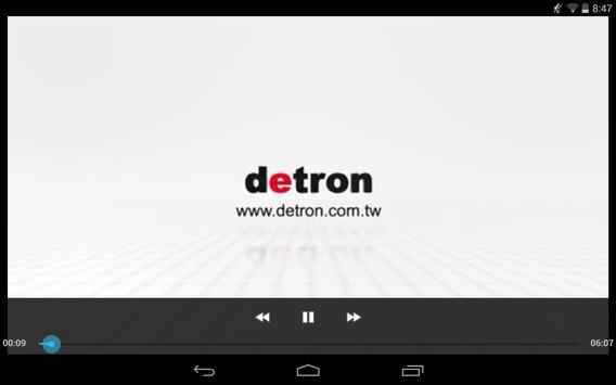 DETRON CNC ROTARY TABLE apk screenshot