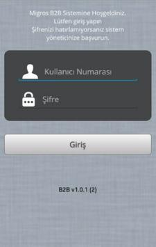 Migros B2B Mobile apk screenshot