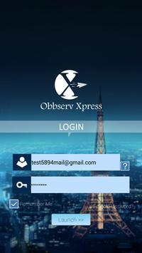 Obbserv Xpress poster