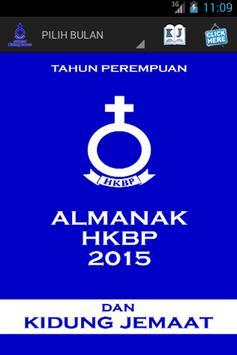 Almanak Dan Kidung Jemaat poster