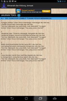 Almanak Dan Kidung Jemaat apk screenshot