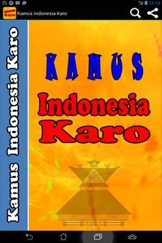 Kamus Indonesia Karo apk screenshot