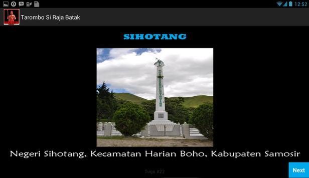 Tarombo Si Raja Batak apk screenshot