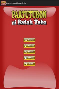 Partuturon ni Batak Toba poster