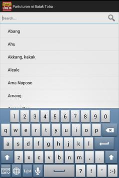 Partuturon ni Batak Toba apk screenshot