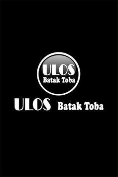 Ulos Batak Toba poster