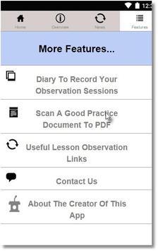 Lesson Observation Assistant apk screenshot