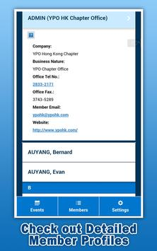 YPO Hong Kong apk screenshot