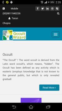Occult Wizard apk screenshot