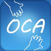 OCA - 일정지역 모든 사람간 소통과 광고 icon