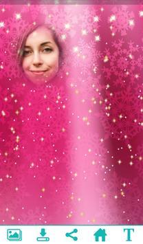 Pink Glitter PhotoFrame apk screenshot