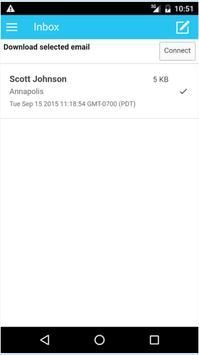 OneMail apk screenshot