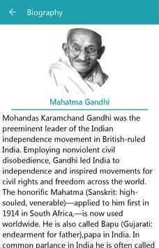 Mahatma Gandhi Quotes English apk screenshot
