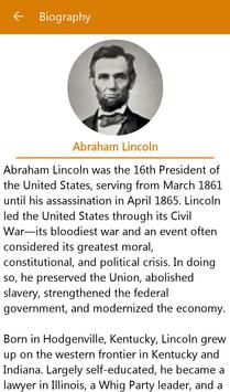 Abraham Lincoln Quotes English poster