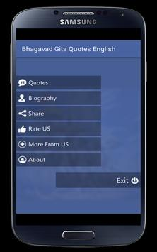 Bhagavat Gita Quotes English poster