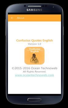 Confucius Quotes English apk screenshot