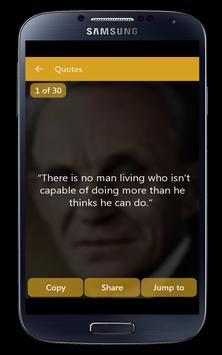 Henry Ford Quotes English apk screenshot
