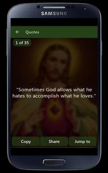 Jesus Christ Quotes English apk screenshot