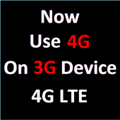 Use 4G on 3G Device VoLTE icon