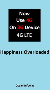 Use 4G on 3G Device VoLTE apk screenshot