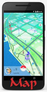 Map For Poke Go(Location) poster