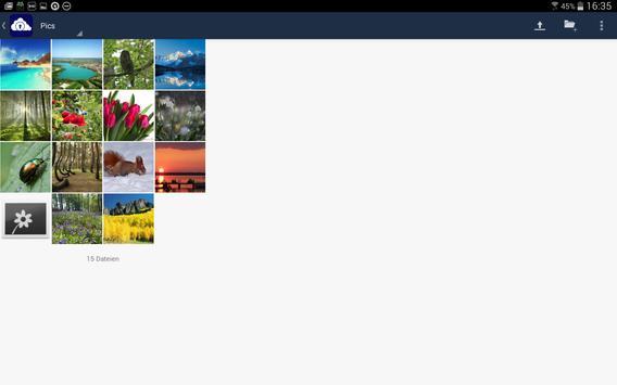 ocloud for owncloud apk screenshot