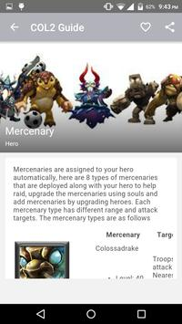 Guide For Clash of Lords 2 apk screenshot