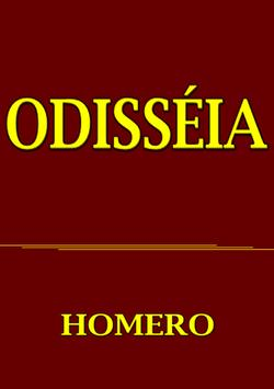 ODISSÉIA - HOMERO - free poster