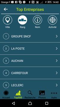 Guide Entreprises 2017 apk screenshot