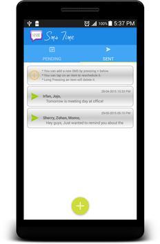 Sms Time apk screenshot
