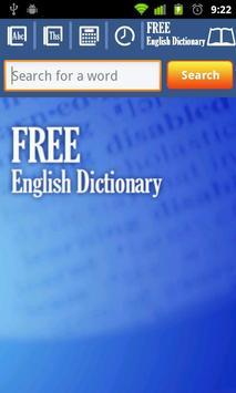 Free English Dictionary apk screenshot