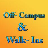 Off Campus & Walkins Jobs icon