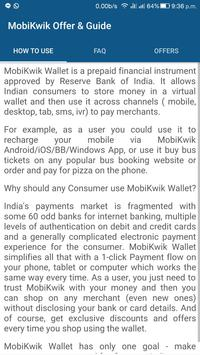 mobikwik offers coupons guide poster