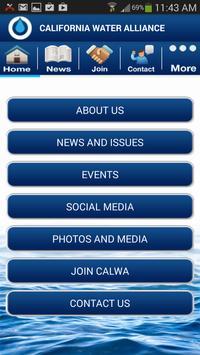 California Water Alliance apk screenshot
