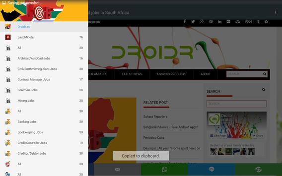 Job Mail Africa apk screenshot