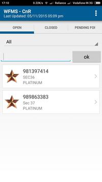 WFMS apk screenshot